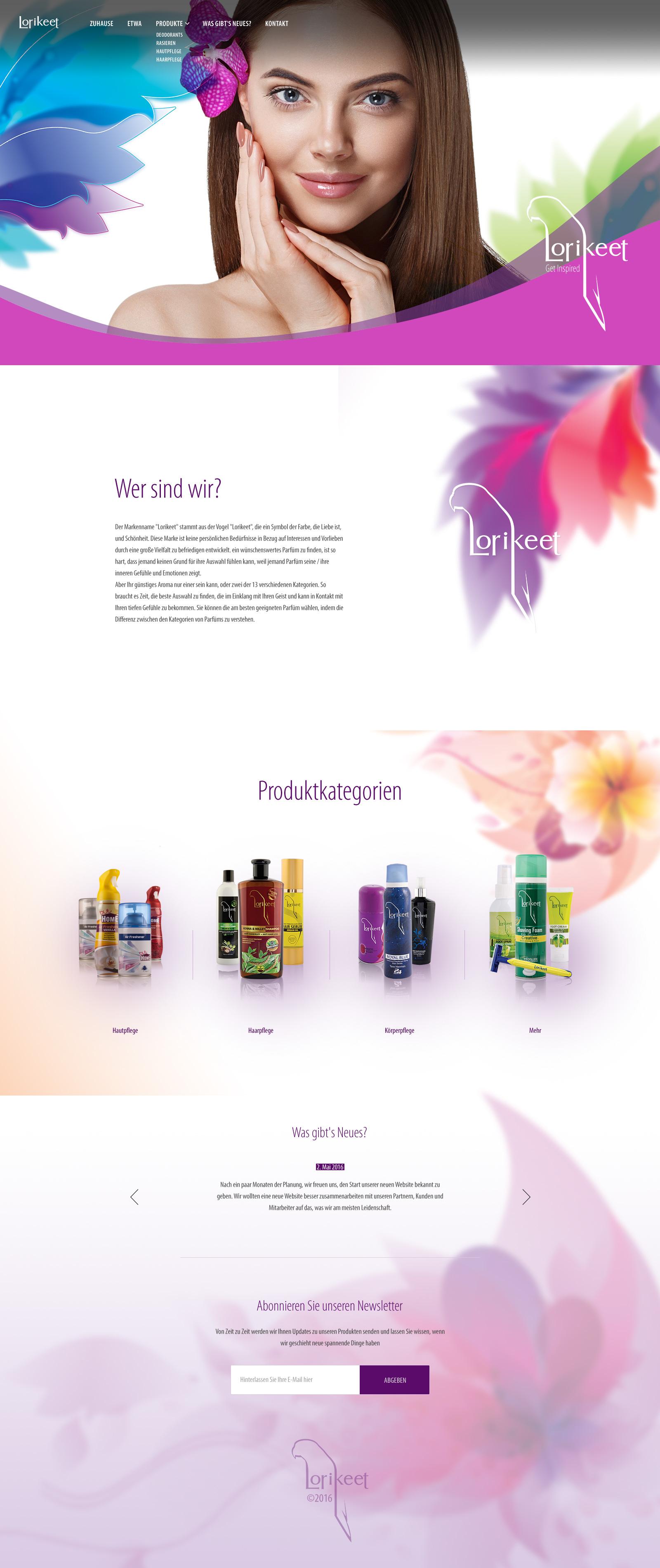 Lorikeet Brand